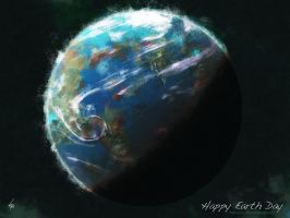 Happy Earth Day by Rhunyen