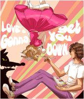 Love's gonna get you down by BretzelOye