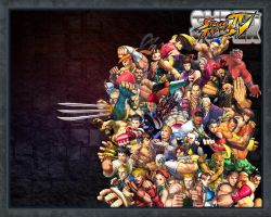 Super Street Fighter IV by SBlister