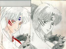 Sesshomaru:After and Before by blackheartedmadera