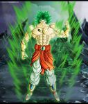 Fan art DBZ : Broly ssj Legendaire by Crakower