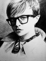 boy with glasses by Sacla