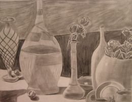 Classic Still Life by AngelofNightmareRelm