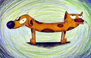 Catdog by caitlinwithasea