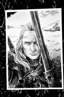 Geralt of Rivia 01 by Nati13321