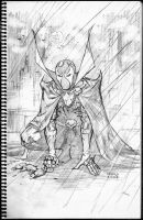 Spawn Sketch by FlowComa