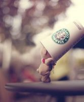 Starbucks love by Salmioch