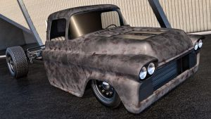 1958 Chevrolet Apache Rat by SamCurry