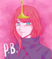 Princess Bubblegum - Anime Version by hirada-meirin