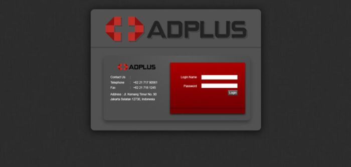 Adplus Log in Form by Miuzard
