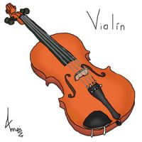 Violin by MaiPictures