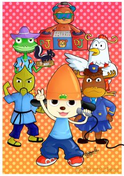 Parappa the rapper by July-MonMon