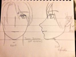 My Jason Johnson (2P! USA) Sketch-Out by Myindiansummer