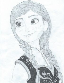 Anna (Frozen) by unBAILEYvable