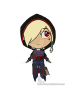 Kafziel chibified by Know-Kname