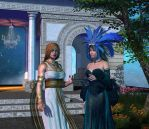 Two goddesses one plot by Hera-of-Stockholm