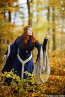 Sorceress of the Woods by MADmoiselleMeli
