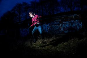 Long Exposure + Flash Gun 3 by adamjamescooper