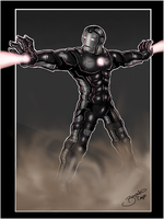 Iron Man Re-Desgn War Machine by BouncieD