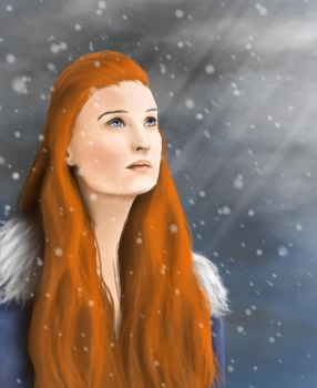 Queen In The North by MotherOfDrawings