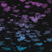 Textura Corazones Purple Blue by MFSyRCM