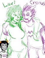 Lexi and Cronus by vaultboy28