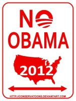 No Obama zone by Conservatoons