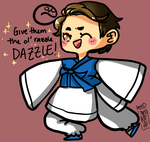 GIVE EM THE OL' RAZZLE DAZZLE by Lil-Wang