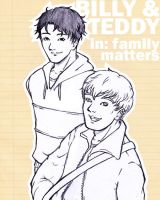 Billy and Teddy in Family Matters by pinniped