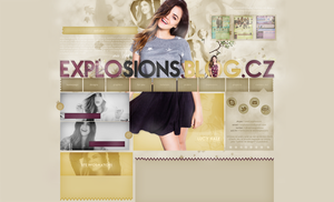 Explosions Design | Lucy Hale by weniexplosions