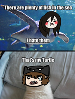 ..thats my turtle.. by Ask-Olive-And-Oliver