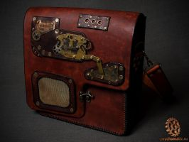 Steampunk bag by Tvirinum