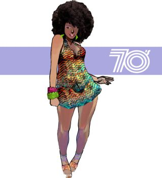 Black Power 70's by J41R0