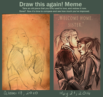 Before and after meme by drathe