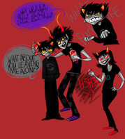 Troll doodles 4 by Dice-x