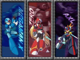 Megaman X wallpaper by arc2005