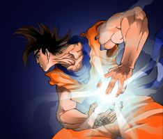 Goku Colour by funkt-green