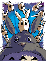 Surprised Totoro by CraigArndt
