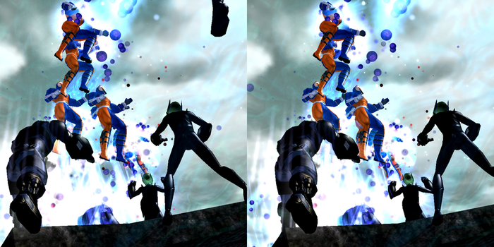 Spectral Corps vs Alien Invaders by PiledriverPete