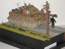 Legends: Wittmann and his last Tiger by LacheV