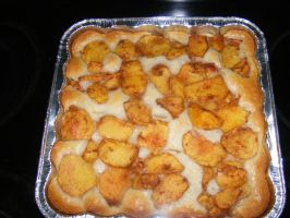 peach cobbler by BlueIvyViolet