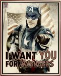 Captain America - We need you! by WhiteLemon