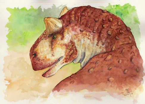 Carnotaurus by Dragon--Feathers