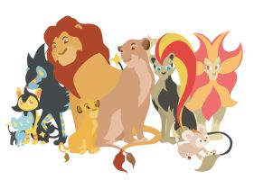 Team Lion King by Citron--Vert