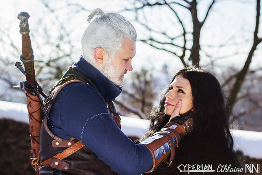 Geralt and Yennefer, The Witcher VI by Ethlaine