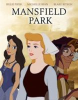 Mansfield Park Disney Poster by KatePendragon