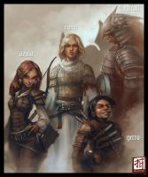 Daily - Group of Adventurers by Ruloc