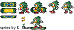 Jet the Hawk - Sprite Update by SecksShae