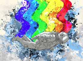 Nyanstronaut by shiphfwd