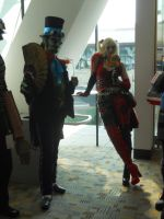 Otakon 2011: Joker and Harley by LusheetaLaputa